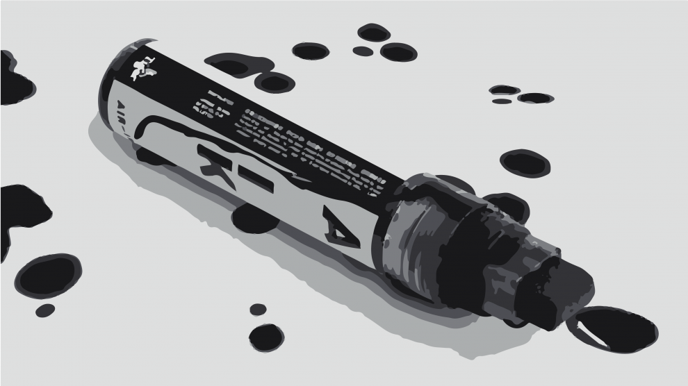POLLUTION BECOMES ART: turning carbon emissions into ink